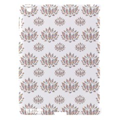 Dot Lotus Flower Flower Floral Apple iPad 3/4 Hardshell Case (Compatible with Smart Cover)