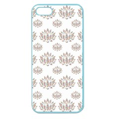 Dot Lotus Flower Flower Floral Apple Seamless iPhone 5 Case (Color)