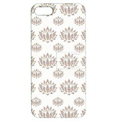 Dot Lotus Flower Flower Floral Apple iPhone 5 Hardshell Case with Stand