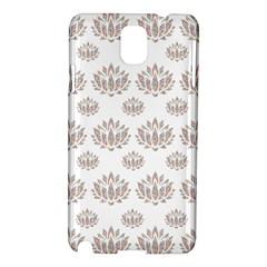 Dot Lotus Flower Flower Floral Samsung Galaxy Note 3 N9005 Hardshell Case