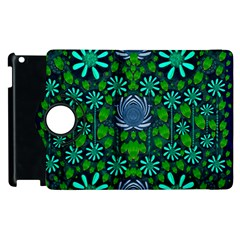 Strawberry Fantasy Flowers In A Fantasy Landscape Apple iPad 2 Flip 360 Case