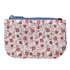 Floral Pattern Large Coin Purse