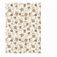 Floral pattern Large Garden Flag (Two Sides)