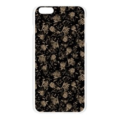 Floral pattern Apple Seamless iPhone 6 Plus/6S Plus Case (Transparent)