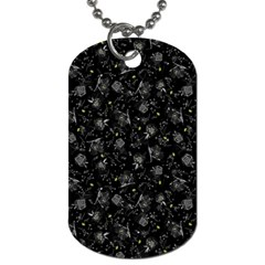 Floral pattern Dog Tag (Two Sides)