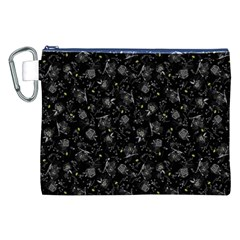 Floral pattern Canvas Cosmetic Bag (XXL)