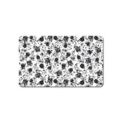 Floral pattern Magnet (Name Card)