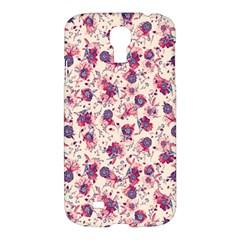 Floral pattern Samsung Galaxy S4 I9500/I9505 Hardshell Case