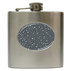 Dots pattern Hip Flask (6 oz)