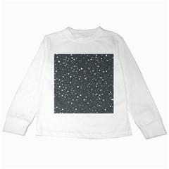Dots pattern Kids Long Sleeve T-Shirts