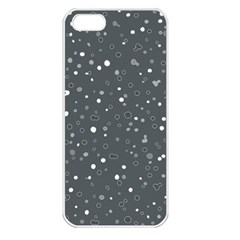 Dots pattern Apple iPhone 5 Seamless Case (White)