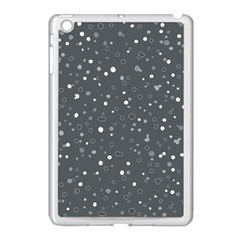 Dots pattern Apple iPad Mini Case (White)