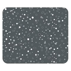 Dots pattern Double Sided Flano Blanket (Small)