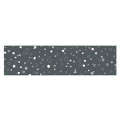 Dots pattern Satin Scarf (Oblong)