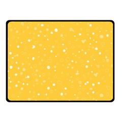 Dots pattern Fleece Blanket (Small)