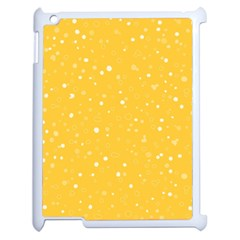 Dots pattern Apple iPad 2 Case (White)