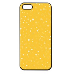 Dots pattern Apple iPhone 5 Seamless Case (Black)