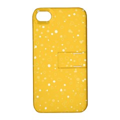 Dots pattern Apple iPhone 4/4S Hardshell Case with Stand