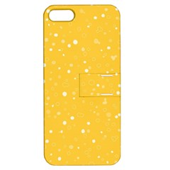 Dots pattern Apple iPhone 5 Hardshell Case with Stand