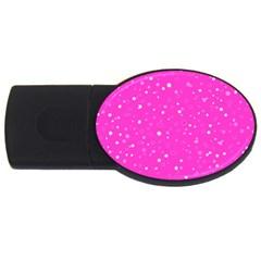 Dots pattern USB Flash Drive Oval (2 GB)