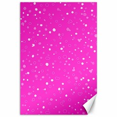 Dots pattern Canvas 12  x 18