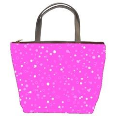 Dots pattern Bucket Bags