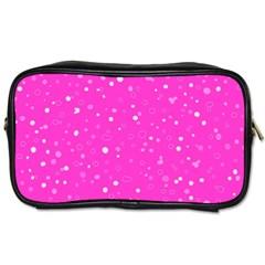 Dots pattern Toiletries Bags