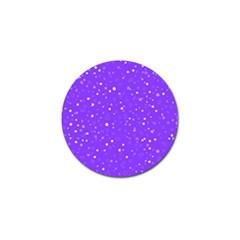 Dots pattern Golf Ball Marker