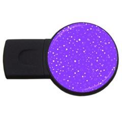 Dots Pattern Usb Flash Drive Round (4 Gb)