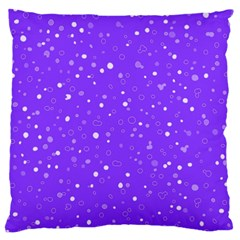 Dots pattern Standard Flano Cushion Case (One Side)