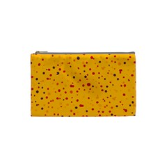 Dots pattern Cosmetic Bag (Small)