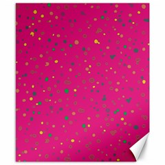 Dots pattern Canvas 8  x 10