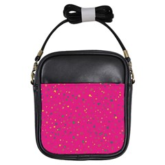 Dots pattern Girls Sling Bags