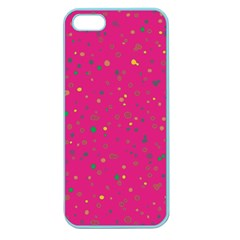 Dots pattern Apple Seamless iPhone 5 Case (Color)