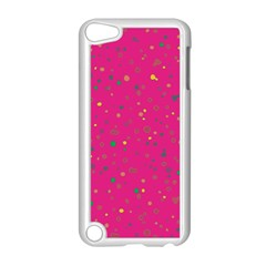 Dots pattern Apple iPod Touch 5 Case (White)