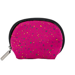 Dots pattern Accessory Pouches (Small)