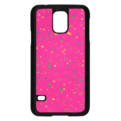 Dots pattern Samsung Galaxy S5 Case (Black)