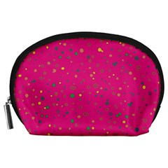 Dots pattern Accessory Pouches (Large)
