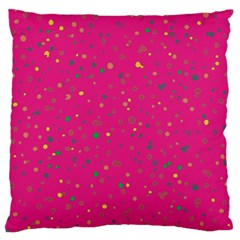 Dots pattern Standard Flano Cushion Case (Two Sides)