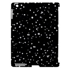 Dots pattern Apple iPad 3/4 Hardshell Case (Compatible with Smart Cover)