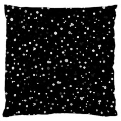 Dots pattern Large Flano Cushion Case (One Side)