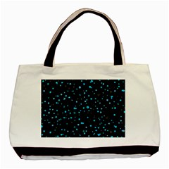 Dots pattern Basic Tote Bag (Two Sides)