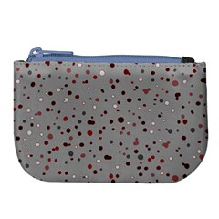 Dots Pattern Large Coin Purse