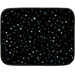 Dots pattern Double Sided Fleece Blanket (Mini)