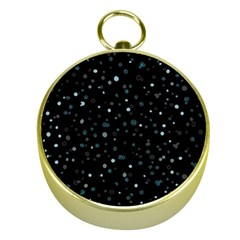 Dots pattern Gold Compasses