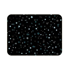 Dots pattern Double Sided Flano Blanket (Mini)