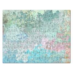 Pastel Garden Rectangular Jigsaw Puzzl