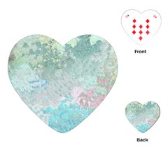 Pastel Garden Playing Cards (Heart)