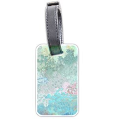 Pastel Garden Luggage Tags (One Side)
