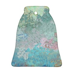 Pastel Garden Bell Ornament (Two Sides)